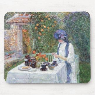 Childe Hassam - The Terre-Cuits Tea Set Mousepads