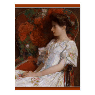 Childe Hassam The Victorian Chair CC0408 Postcard