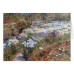 Childe Hassam - The water garden Cards