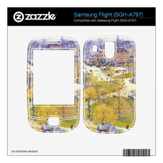 Childe Hassam - Union Square in Spring Samsung Flight Decals