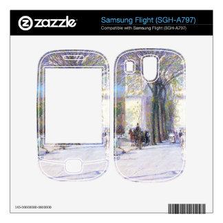 Childe Hassam - Washington triumphal arch in sprin Skin For Samsung Flight