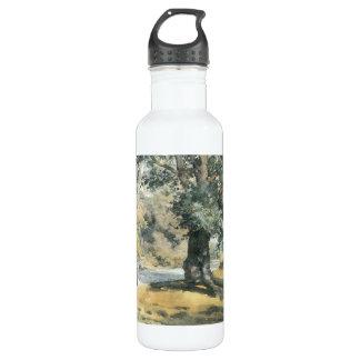 Childe Hassam - Wayside Inn Mass Stainless Steel Water Bottle