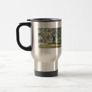 Childe Hassam - Wayside Inn Mass Travel Mug