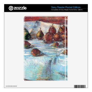 Childe Hassam - Winter Sickle Pears Decal For The Sony Reader