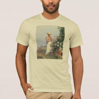 Childe Hassam - Woman in Garden T-Shirt