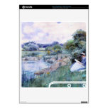 Childe Hassam - Woman reading PS3 Slim Console Decals