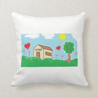 Childen Home Throw Pillow