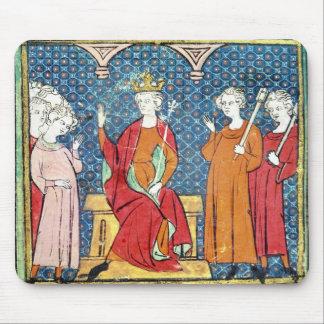 Childeric II , Merovingian King of Austrasia Mouse Pad
