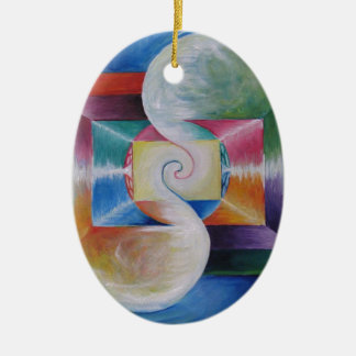 childern of Lyr Ceramic Ornament