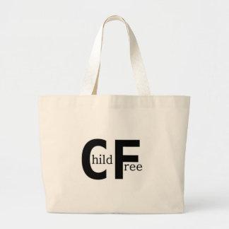 Childfree Jumbo Tote Bag