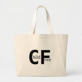 Childfree Canvas Bags