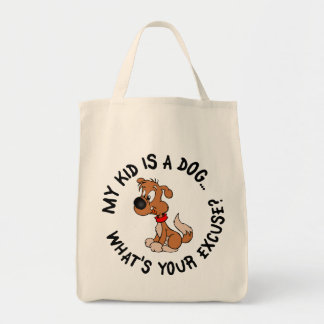Childfree Dog Owner Vs Parents with Bad Kids Canvas Bags