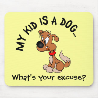 Childfree Dog Owner Vs Parents with Bad Kids Mouse Pad