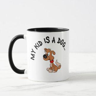 Childfree Dog Owner Vs Parents with Bad Kids Mug