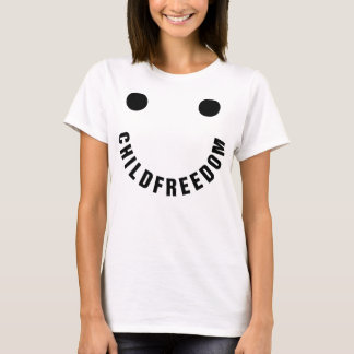 Childfree Happy Face T-Shirt
