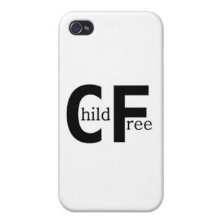 Childfree iPhone 4 Cases