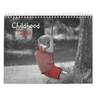 Childhood 2011 calendar