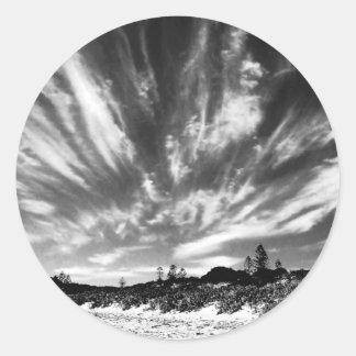Childhood-beach Classic Round Sticker