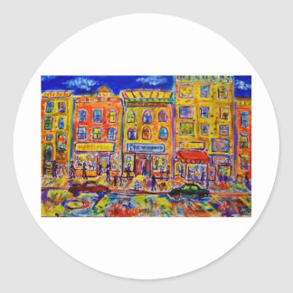 Childhood Bronx  2 by Piliero Classic Round Sticker