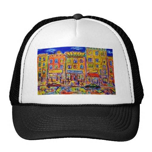 Childhood Bronx  2 by Piliero Trucker Hat