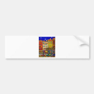Childhood Bronx 6 by Piliero Bumper Sticker