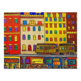 Childhood Bronx 6 by Piliero 4.25x5.5 Paper Invitation Card