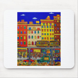 Childhood Bronx 6 by Piliero Mouse Pad