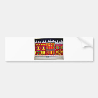 Childhood Bronx by Piliero Bumper Sticker