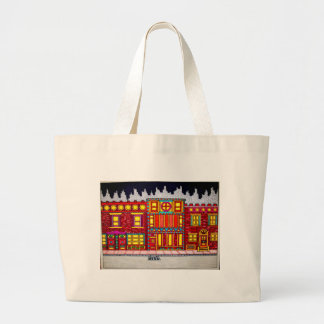 Childhood Bronx by Piliero Large Tote Bag