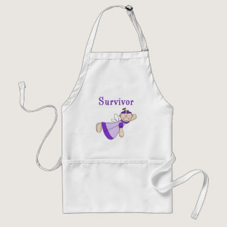 Childhood Cancer Adult Apron
