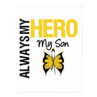 Childhood Cancer Always My Hero My son Post Card