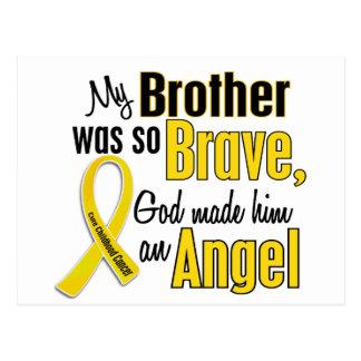 Childhood Cancer ANGEL 1 Brother Postcard