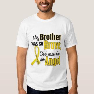 Childhood Cancer ANGEL 1 Brother T-Shirt