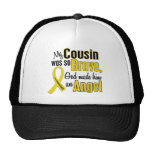 Childhood Cancer ANGEL 1 Cousin (Male) Trucker Hat