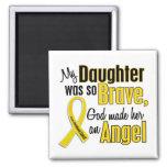 Childhood Cancer ANGEL 1 Daughter Magnets