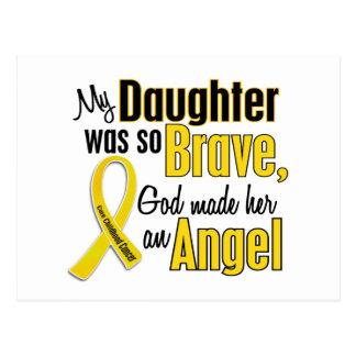 Childhood Cancer ANGEL 1 Daughter Postcard