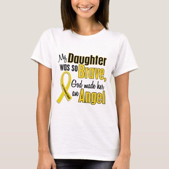 Childhood Cancer ANGEL 1 Daughter T-Shirt