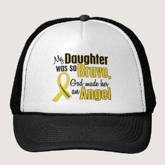 Childhood Cancer ANGEL 1 Daughter Trucker Hat
