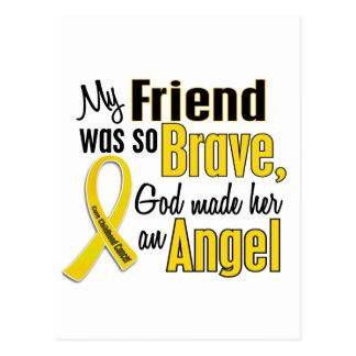 Childhood Cancer ANGEL 1 Friend (Female) Postcard