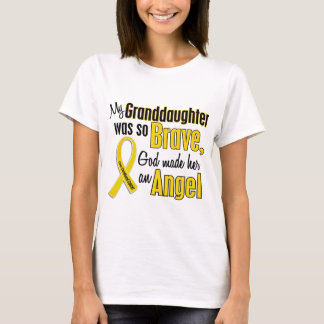 Childhood Cancer ANGEL 1 Granddaughter T-Shirt