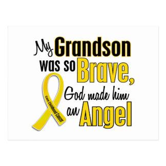 Childhood Cancer ANGEL 1 Grandson Postcard