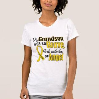 Childhood Cancer ANGEL 1 Grandson T-Shirt