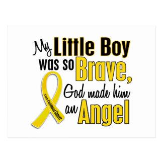 Childhood Cancer ANGEL 1 Little Boy Postcard