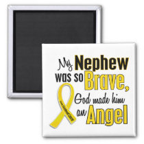 Childhood Cancer ANGEL 1 Nephew Magnet