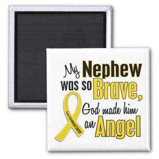 Childhood Cancer ANGEL 1 Nephew Magnet