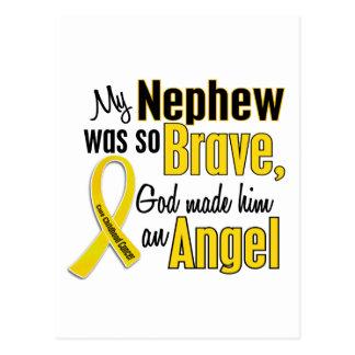 Childhood Cancer ANGEL 1 Nephew Postcard