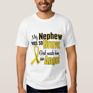 Childhood Cancer ANGEL 1 Nephew T-Shirt