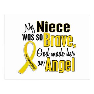 Childhood Cancer ANGEL 1 Niece Postcard