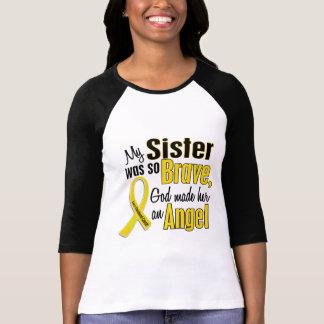 Childhood Cancer ANGEL 1 Sister T-Shirt
