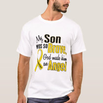 Childhood Cancer ANGEL 1 Son T-Shirt